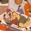 Harem - Dominant Man enjoying his Courtesans