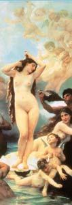 Erotic Art Painting of Female Sexual Goddess, Aphrodite