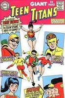 Teen Titans picture from the original DC Comic