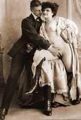 Mutual Masturbation: man touching woman.