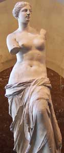 The Venus de Milo: Erotic Topless Statue