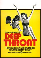 The original Deep Throat movie poster