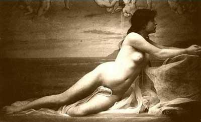 Classic Erotic Nudes: Painting of Women