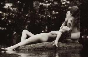 Two Women in Nature: Public Sex Fetish