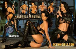 ActionGirls.com Veronica Zemanova