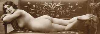Vintage Erotica Nude: Sexy Erotic Art Picture of Naked Woman